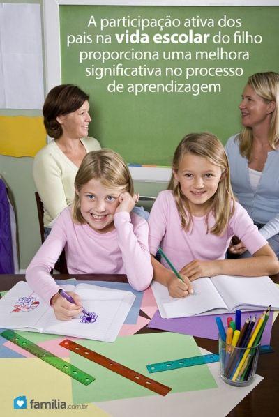 Familia.com.br | 5 maneiras de se envolver com a escola de seu filho