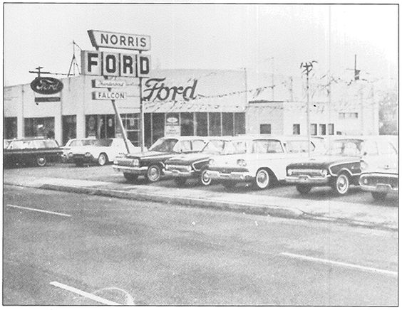 baltimore in the 1960s about norris ford baltimore new ford used car dealership serving. Black Bedroom Furniture Sets. Home Design Ideas