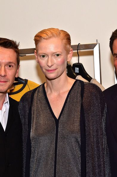 #TildaSwinton - #Fashion'sNightOut At SAKS Fifth Avenue