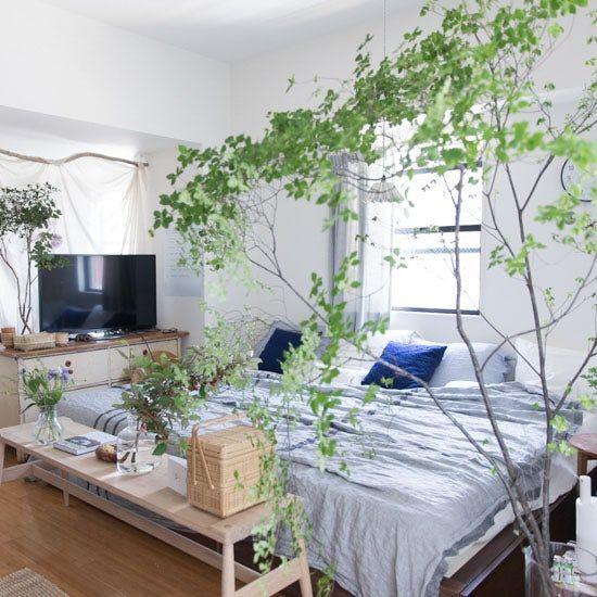 熱帯夜の対策に エアコンに頼りすぎない 涼感アップ の寝室をつくるコツ インテリア 家具 インテリア 収納 夏のベッドルーム