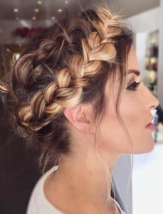 52 Awesome Crown Braids Styles To Sport In 2018 Braids Wedding