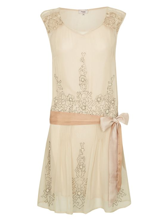 Short 20s Flapper Style dress - from Hoss Intropia