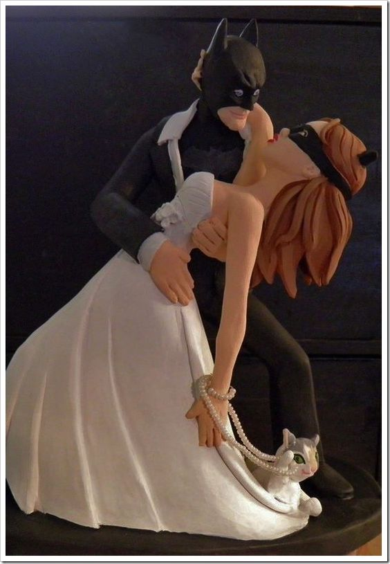 batman cake topper batman and wedding cake topper made by 1520