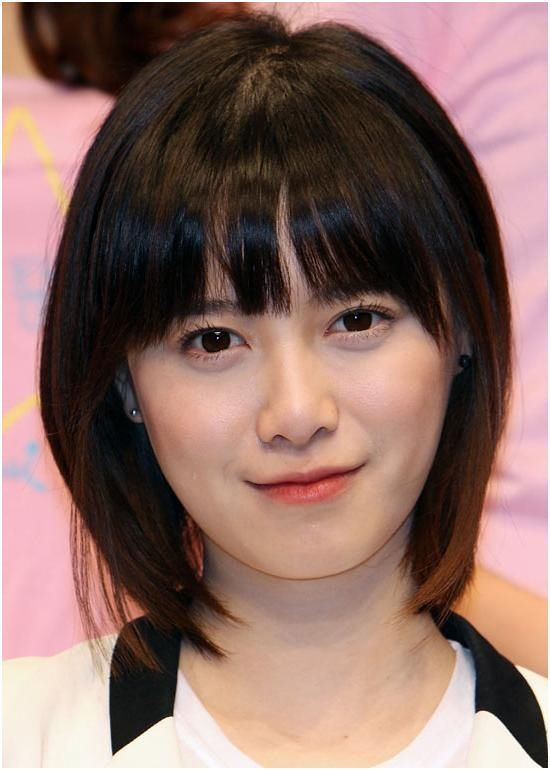 Asian Short Hairstyles For Round Faces Korean Hairstyles For Big Faces 2020 Asian Short Hairstyles Gaya Rambut Korea Rambut Pendek Asian Gaya Rambut Asia