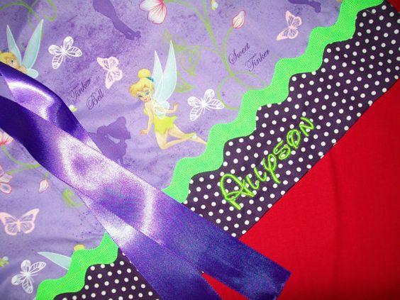 Disney Tinkerbell Pillowcase Dress by boogerbearpunkinpooh on Etsy,