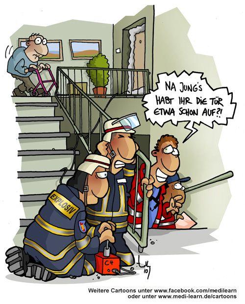 lustige Feuerwehr Witze