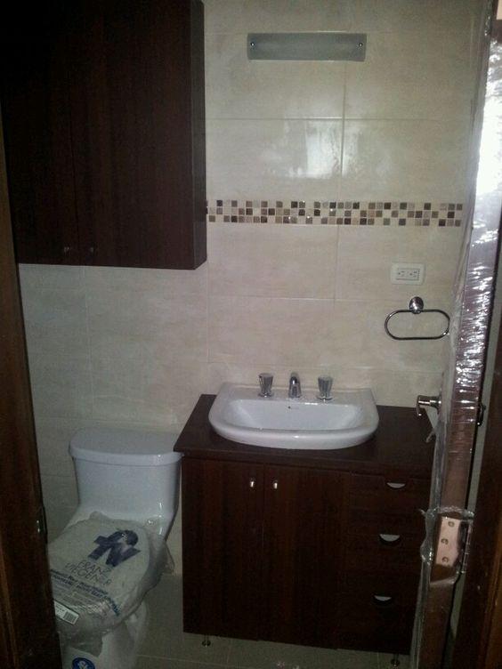 Para agregar espacio para guardar en banos pequenos - Lavamanos de bano ...
