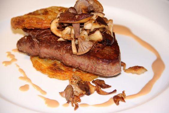 La recette de Thierry : Filet de bœuf aux champignons