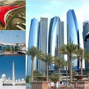Abu dhabi city tour with ferrari world entry tickets @ green wood tourism only…