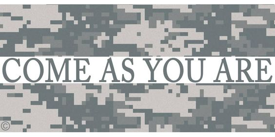 We want to help promote understanding and acceptance in the small, but growing LGBT community of the military!  check out our facebook: https://www.facebook.com/ComeAsYouAre013  gay, lesbian, bisexual, military, navy, marines, air force, army, coast guard,