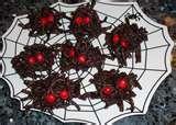 Spider candies for Halloween