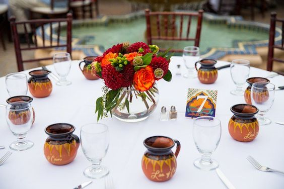 Real Wedding: Leah and Cain's Fiesta Themed Wedding by Victoria's Florals & Event Design