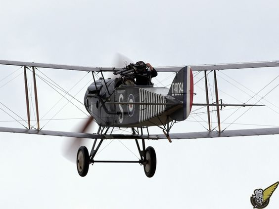 Modern flying reproductions of WWI aircraft, Masterton New Zealand Brisfit1.jpg