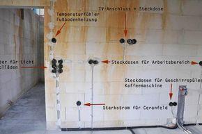 Die Hohe Von Steckdosen Und Schaltern Bei Der Elektroinstallation Diybook At Elektroinstallation Kucheninstallation Elektroinstallation Haus