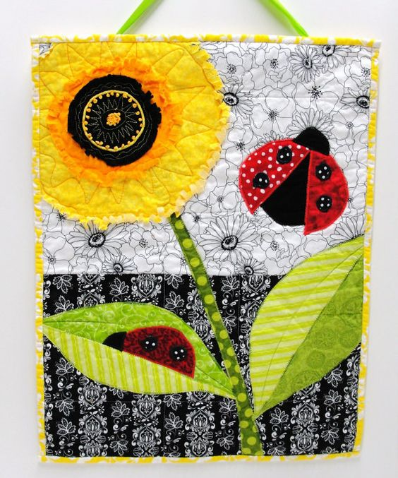 Poppies, Art quilts and Garden club on Pinterest
