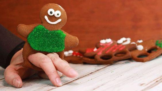 Dancing Gingerbread Man