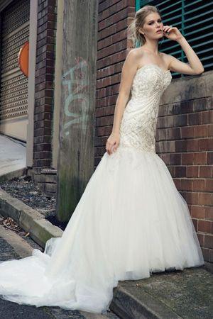 brides of adelaide magazine - bridal fashion - henry roth - wedding dress