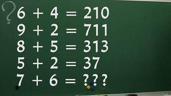7 + 6 = ?: Haben Sie einen IQ von über 150? Dieser simple Test aus Japan soll es beweisen - Video - Videos - FOCUS Online Mobile