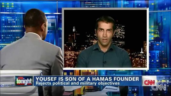 Mosab Hassan Yousef (Son of Hamas Founder) Tells The TRUTH About Hamas. -- Publ on Jul 26, 2014 -- Mosab Hassan Yousef (Son of Hamas Founder) reveals the truth about how Hamas Terror group aims to kill civilians and uses Palestinian Children as human shields. (CNN interview. July 24 2014)