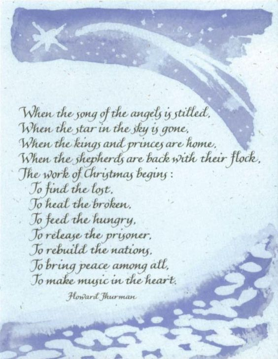 I Will Light Candles This Christmas by Howard Thurman | Christmas ...