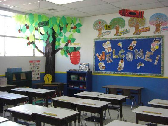 Como decorar salon de clases preescolar imagui ideas - Decorar mi salon ...