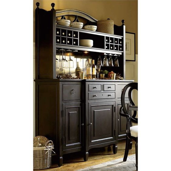 Bar Hutch, Buffet And Furniture On Pinterest
