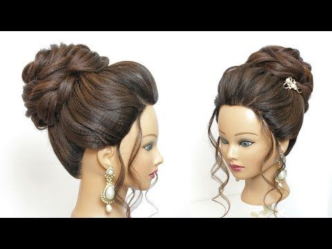 New Low Messy Bun Bridal Hairstyle For Long Hair Wedding Updo Tutorial Oakley Hairstyles Journal High Bun Hairstyles Easy Bun Hairstyles Hair Bun Tutorial