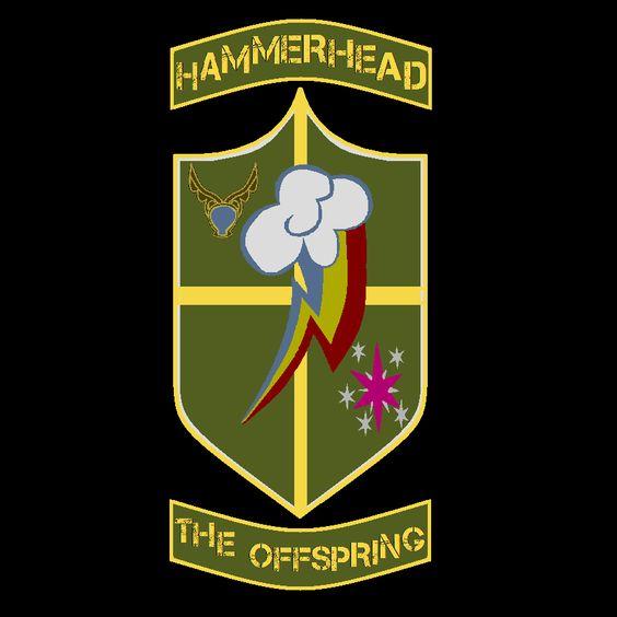 The Offspring – Hammerhead (cover art)