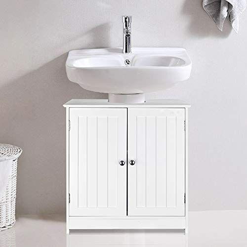 Ssline Under Sink Vanity Cabinet Free Standing Bathroom S Https Www Amazon Com Dp B07zqg71jn Ref Cm Sw Cupboard Storage Bathroom Sink Cabinets Vanity Sink