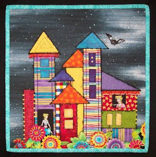 Blondie's Castle Quilt - I love the detail! by Talk Is Cheap Quilts