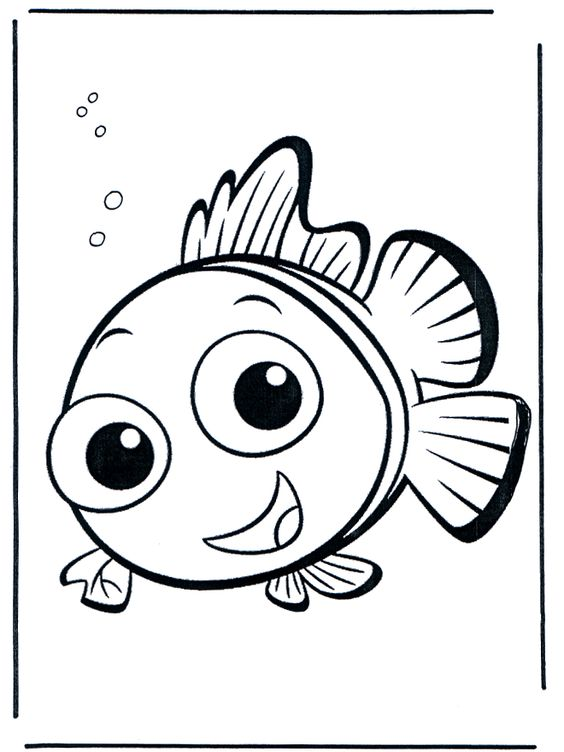 nemo coloring pages images google - photo#29