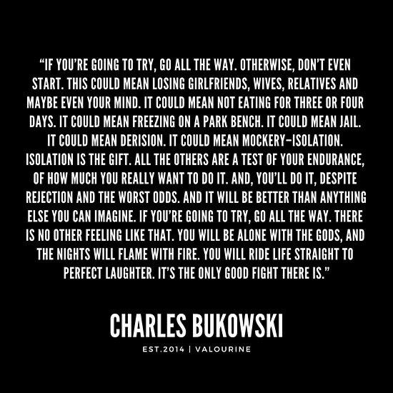 Pin By Roma On For The Love Of Black Charles Bukowski Quotes Mockery Quote Want To Die Quotes