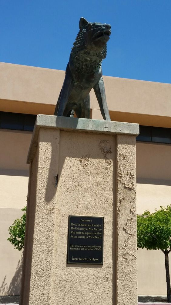 Dedicated to UNM student/alumni who made the ultimate sacrifice during WWII