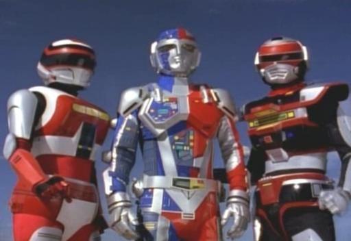 """Choujinki Metalder (""""VR Troopers"""" in U.S.)"""