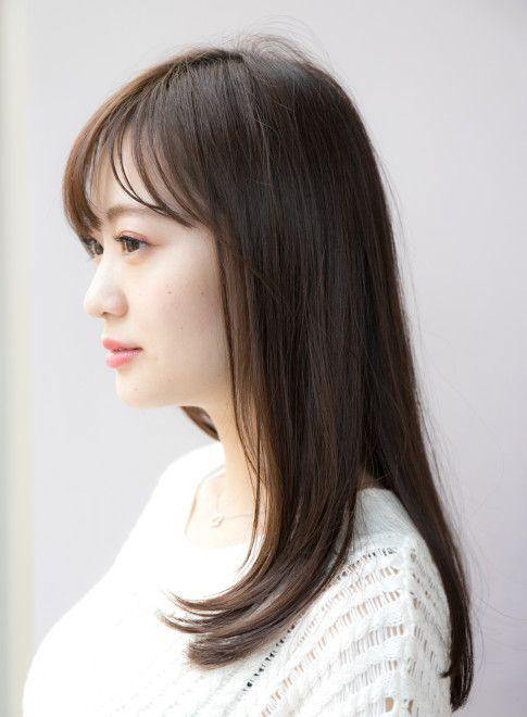 セミロング 30代40代おすすめ 大人レイヤーパーマ Ramie Ginzaの髪型