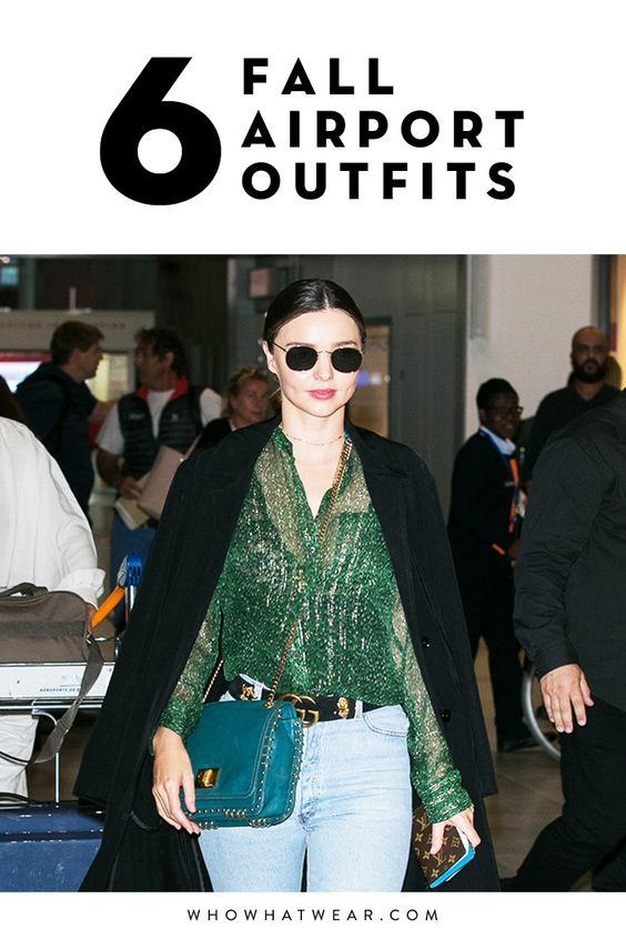 What to wear to the airport in the fall
