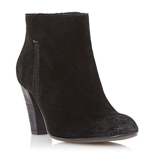 Dune Black Damen PHARAH Stiefeletten mit Reißverschluss hinten und Absatz Schwarz Größe EUR 39 - http://on-line-kaufen.de/dune/39-eu-dune-black-damen-pharah-stiefeletten-mit-und