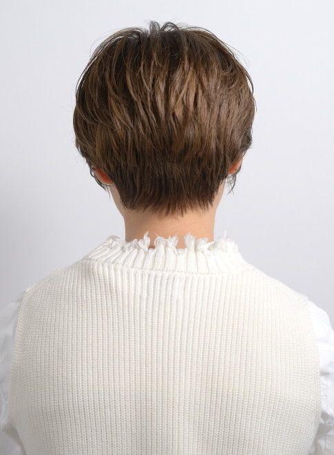 3 40代へ 後ろ姿も綺麗な大人ショート 髪型ショートヘア ヘア