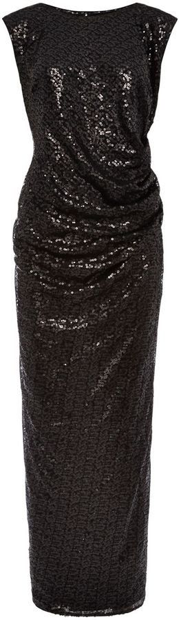 Pin for Later: Be Seen This Festive Season in a Sequinned Party Dress Viyella Sequin Embellished Maxi Dress Viyella sequin embellished maxi dress (£199)