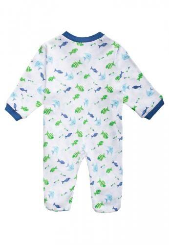 #Jacky baby 2 pack pigiama light blue Celeste  ad Euro 19.00 in #Jacky baby #Bambini abbigliamento intimo
