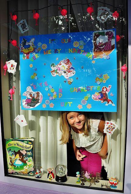 I love decorating our window or door at the walt disney for Hotel door decor