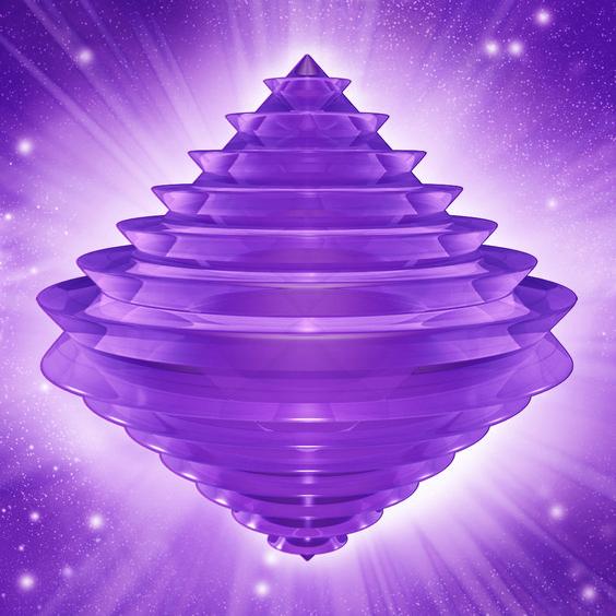 plateada con destellos liliáceos: para la sanación del alma, y armonización de todas las vidas pasadas.