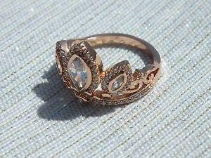 Rose Gold Tiara Rapunzel Ring