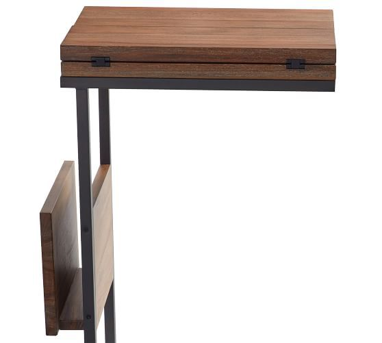 Allen C Table Wood Small Space Furniture Living Room