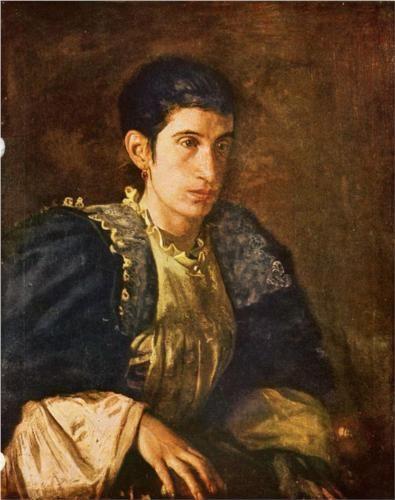 Signora Gomez d Arza - Thomas Eakins