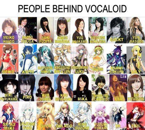 la voz de cada personaje