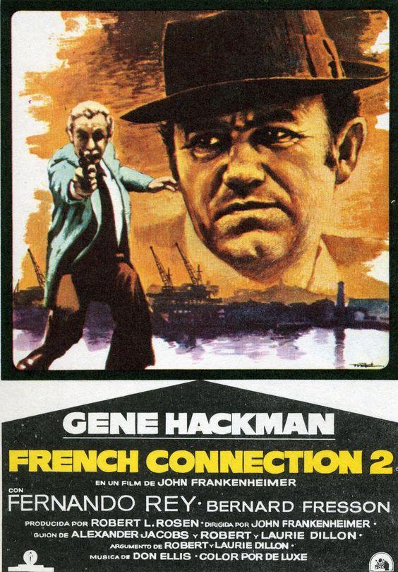 1975 | French Connection II | John Frankenheimer | Rating 7