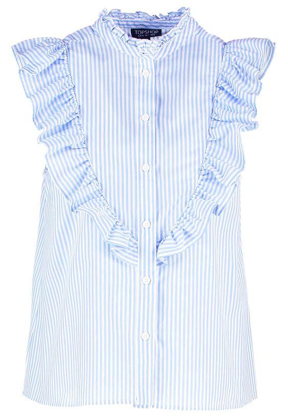 Pedir Topshop Camisa - white por 41,95 € (7/09/16) en Zalando.es, con gastos de envío gratuitos.