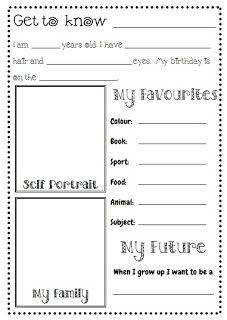 Printables Getting To Know You Worksheet free getting to know you worksheets davezan get me printable worksheet you
