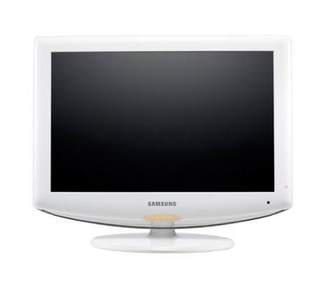 White Flat Screen TV